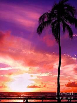 Purple Sky by Kristine Merc