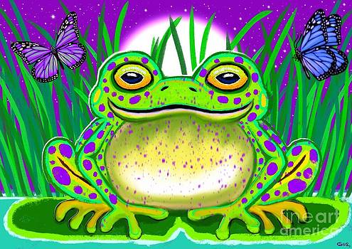 Nick Gustafson - Purple Spotted Frog