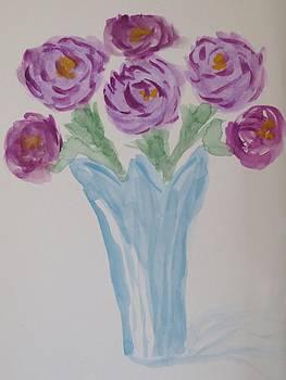 Purples by Cindy Lawson-Kester