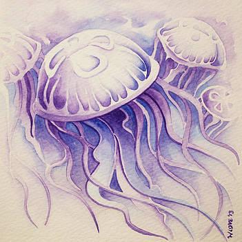 Purpura Jellyfish by William Love