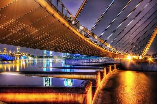 Putrajaya Butterfly Bridge by Sham Osman