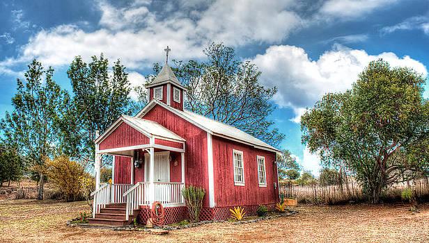 Pu'uanahulu Baptist Church by Kirk Shorte