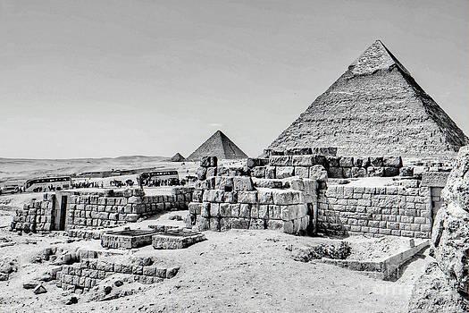 Pyramids  by Karam Halim