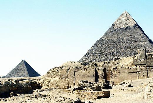 Pyramids by Scott Shaw