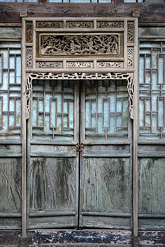 Qing Dynasty House Door by Yue Wang