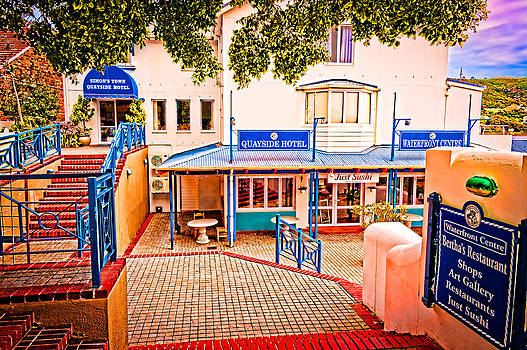 Quayside Hotel of Simon's Town by Cliff C Morris Jr