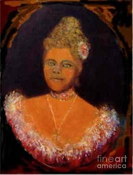 Queen Liliuokalani of Hawaii by Judy Joy Jones by Judy Joy Jones