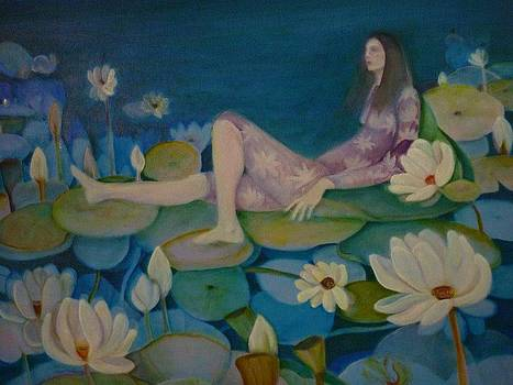 Queen Of The Lilies by Margaret Pirrouette