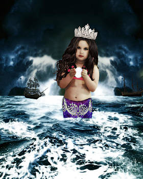 Queen of the Mermaids by ChelsyLotze International Studio