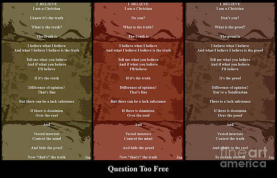 Question Too Free by Geordie Gardiner