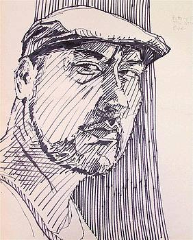 Quicky pen sketch by David Lobenberg