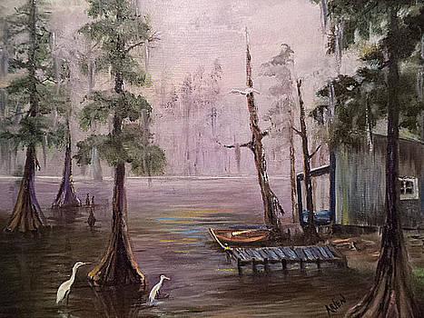 Quiet Bayou by Arlen Avernian Thorensen