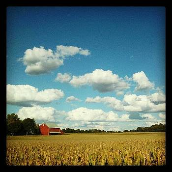 Quintessential Hoosier Farm #1 by Sandy MacGowan