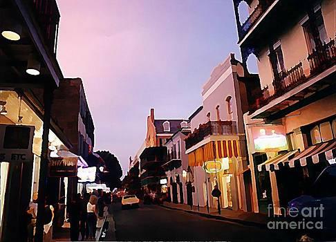 John Malone - Quite Early Evening on Bourbon Street