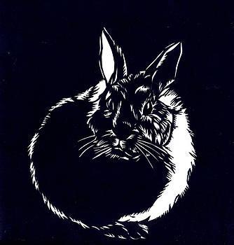 Alfred Ng - rabbit paper cut