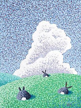Rabbits At Rest by Wayne Hardee