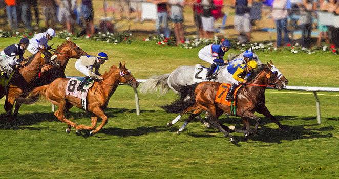 Angela A Stanton - Race 6 - Del Mar Horse race