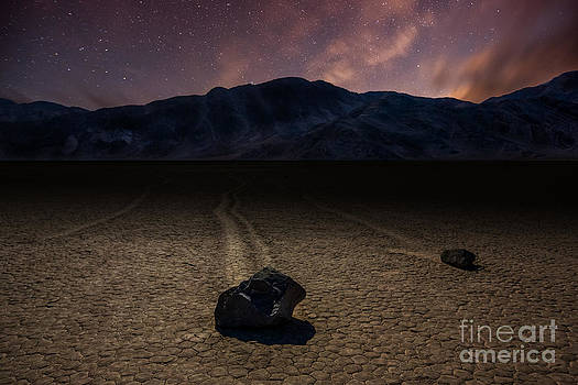 Racetrack Playa by Deryk Baumgaertner