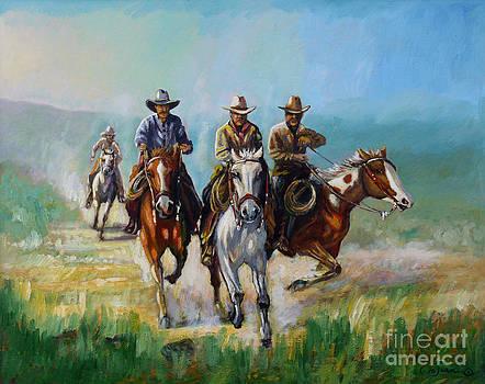 Racing Cowboys by Denis Grosjean