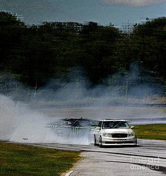 Racing it Down by Steven  Digman