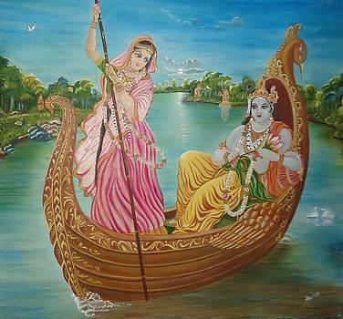 Radha Krishna by Alka  Malik