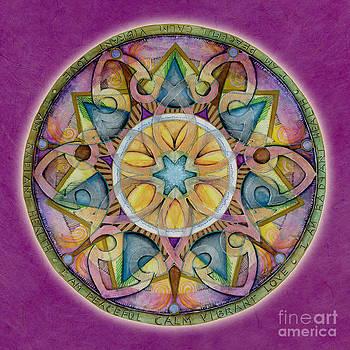 Radiant Health Mandala by Jo Thomas Blaine
