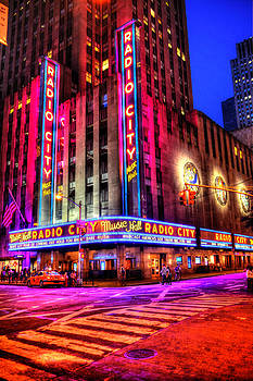 Radio City Music Hall by Randy Aveille