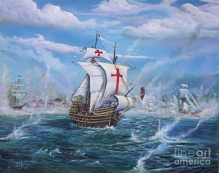 Raid On St Augustine by Earl Butch Curtis