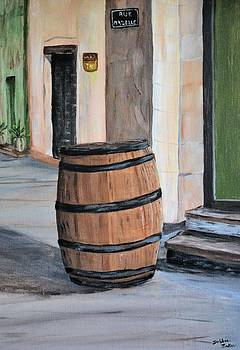 Rain Barrel by Debbie Baker