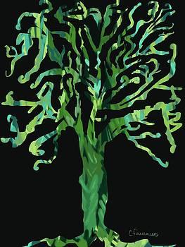 Rain Forest Tree by Christine Fournier