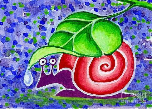 Rain Snail by Lori Ziemba
