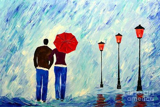 Rain symphony by Mariana Stauffer
