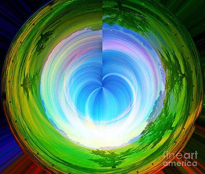 Rainbow At The End Of The Tunnel by Judy Palkimas