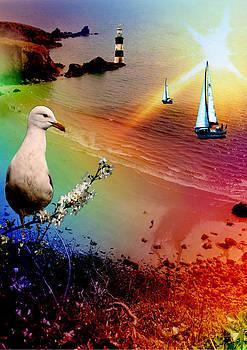 Rainbow Beach by Emily Campbell