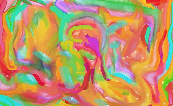Rainbow Crevasse by Naomi Jacobs