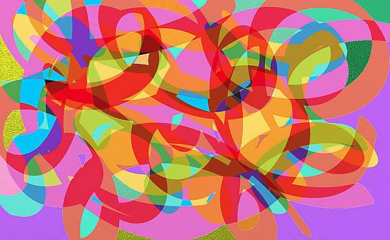 Rainbow Explosion by Naomi Jacobs