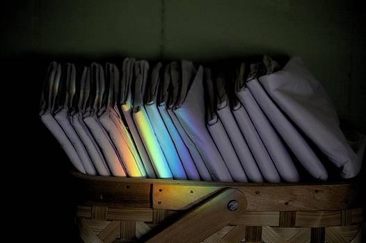 Rainbow in a Basket by Scott Carlton