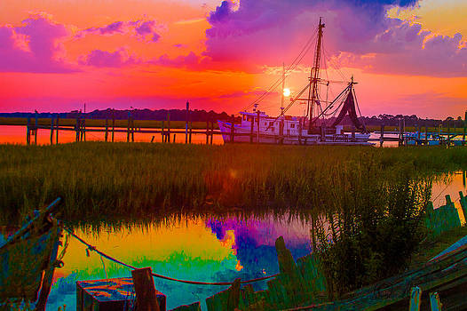 Rainbow Marsh by Bonnes Eyes Fine Art Photography