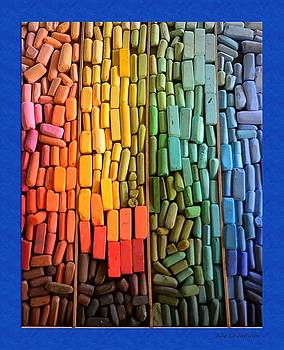 Kae Cheatham - Rainbow of Pastel Chalk