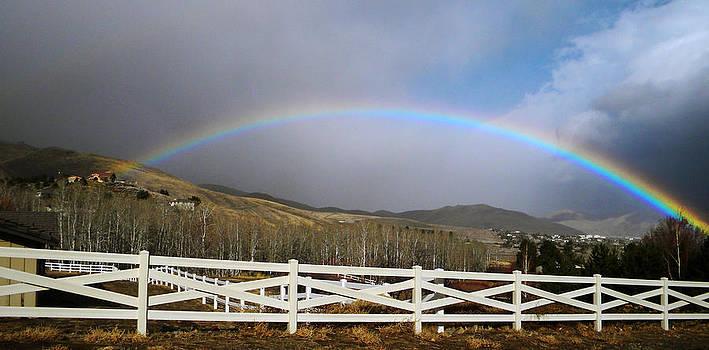 Frank Wilson - Rainbow Over Horse Ranch