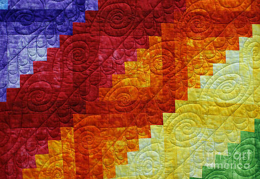 Rainbow Quilt by Sherry Vance