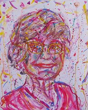 Rainbow Shitstorm by Cindy Lawson-Kester