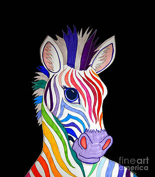 Nick Gustafson - Rainbow Striped Zebra 2