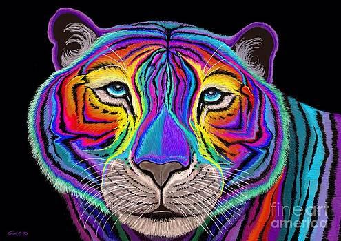 Nick Gustafson - Rainbow Tiger