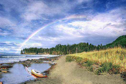 Rainbows End by Rod Mathis
