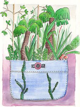 Rainforest Pocket by Julie  Hutchinson