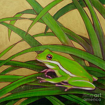 Rainfrog I by Teri Tompkins