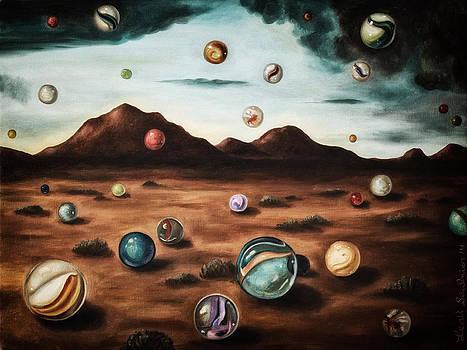 Leah Saulnier The Painting Maniac - Raining Marbles edit 4