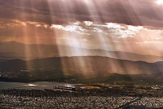 Raining Sun by Konstantinos  Theodoropoulos