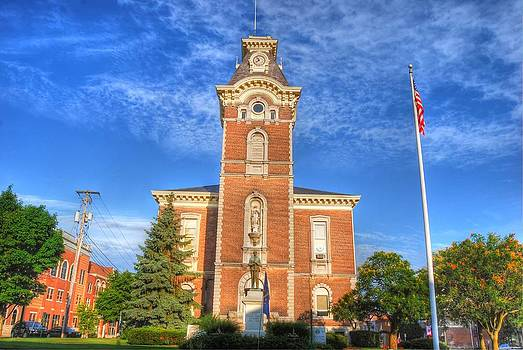Raintree County Courthouse - Independence Day by Mark Orr